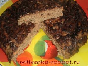 Печеночный пирог в мультиварке рецепт