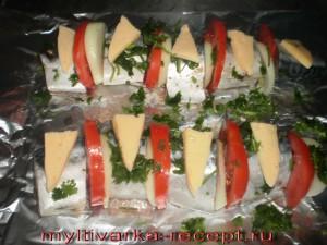 кладем сыр