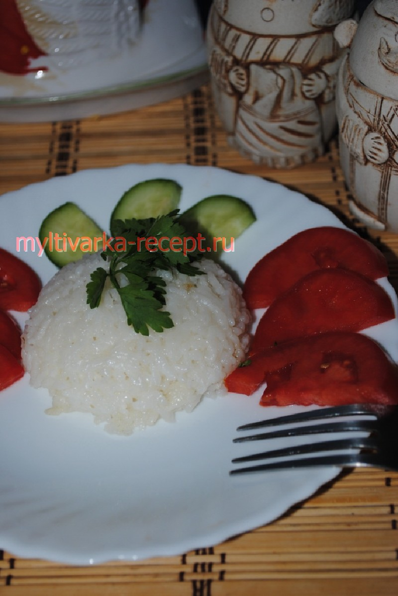 рецепт отварного риса