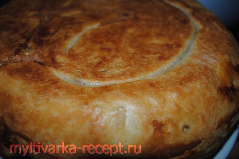 Пирог фруктовый готов
