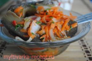 рецепт баклажанов по-корейски