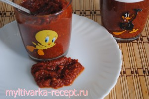 Домашний кетчуп в мультиварке рецепт