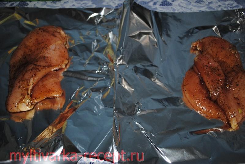 Куриное филе запеченное в мультиварке