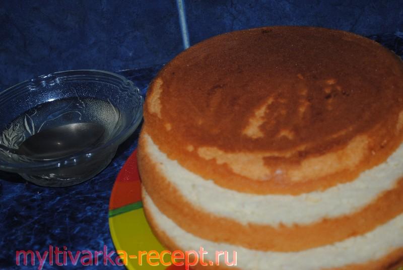 Вкусный торт в мультиварке филипс