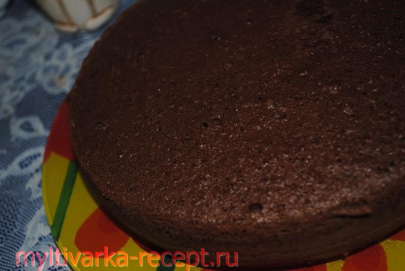 Бисквит для торт «Прага» в мультиварке
