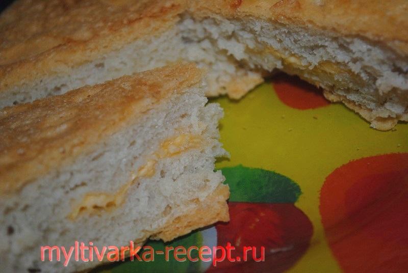 Хлеб с сыром в мультиварке Филипс 3039